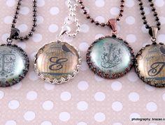Gorgeous personalised pendant | Felt