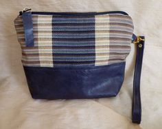 S/S 2016 Wristlet Clutch Purse Handwoven Silk by DianeShawSilk