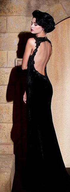 Gorgeous nude back long lace dress- Hassan Mazeh Elegant Dresses, Cute Dresses, Prom Dresses, Wedding Dresses, Beautiful Gowns, Beautiful Outfits, Lace Dress, Dress Up, Mode Glamour