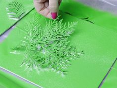 Turn Leaves and Foliage Into DIY Canvas Wall Art  - on HGTV
