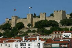 Lisbon Castle of St. Lisbon Portugal, Castles, Around The Worlds, Mansions, House Styles, Palaces, Travel, Royalty, Temples
