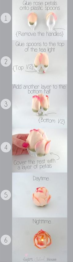 Crafty-ideas-rose-tea-light.jpg 620×2,199 pixels