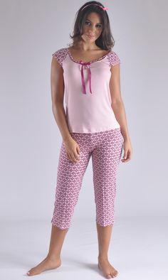 Pijama modera y juvenil clima caliente Colombia Cute Sleepwear, Lingerie Sleepwear, Nightwear, Cute Pjs, Cute Pajamas, Night Suit, Night Gown, Pyjamas, Pijamas Women