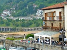 The May Flower restaurant, Getaria, Basque country.
