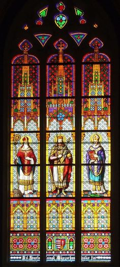 Adalbert - [testvérkép ID: Sacred Art, Budapest, Glass Art