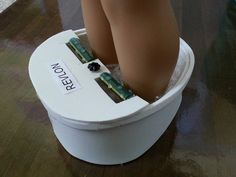 American Girl Doll Crafts and Fun!: Doll Craft: Make A Foot Spa for Your Dolls