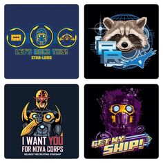 Less than a week to go! #guardiansofthegalaxy @welovefinetees #marvel