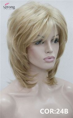 Short Shaggy Layered Copper Red Classic Cap Full Synthetic Wig Kanekalon Women's Wigs COLOUR CHOICES
