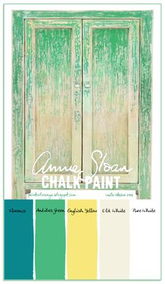 Pine Ombre Cabinet painted with Annie Sloan Chalk Paint Chalk Paint Colors, Kitchen Paint Colors, Chalk Paint Projects, Chalk Paint Furniture, Couleurs Annie Sloan, Annie Sloan Furniture, Ombre Paint, Ombre Color, Colour