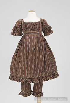 Детская мода 19 века. Идеи для вдохновения / Винтажные антикварные куклы, реплики / Бэйбики. Куклы фото. Одежда для кукол