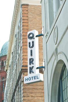 Best new wedding venue: Quirk Hotel, Richmond va!!