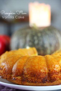 Pumpkin Flan Vanilla