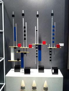 Mondrian Inspired Sculptures