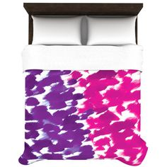 Fleeting Duvet Cover Size: Full / Queen, Color: Purple ($180) ❤ liked on Polyvore featuring home, bed & bath, bedding, duvet covers, purple queen bedding, queen bed linens, queen bedding, purple bed linen and purple bedding