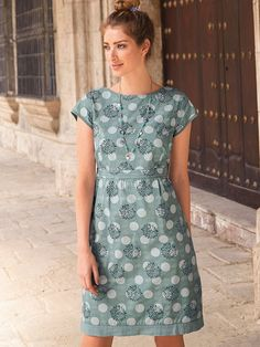 DAISY SPOT POPLIN DRESS. I tend to shop this store when visiting the UK