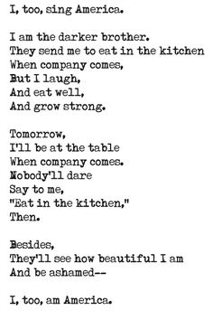 langston hughes poems - Google Search | inspirational quotes ...