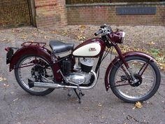 BSA bantam d1 restored after 20years in boxes