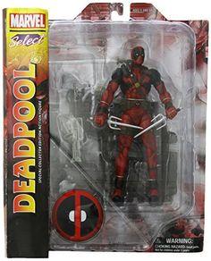 Marvel Select Deadpool Af Re-Run Action Figure Select Toys 20 cm