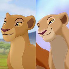 Lion guard Nala VS Lion king Nala