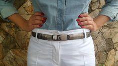 Look Work – Branco e Jeans