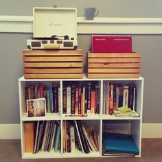 Crosley Vinyl Records Crate Shelves