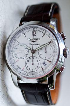 Longines Saint Imier Chronograph - A Blog To Watch
