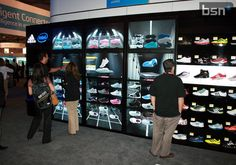 Intel Adias cooperation resulted in digital wall which is now being installed in numerous Adidas stores across the globe