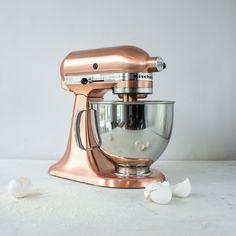 copper kitchen aid stand mixer