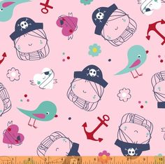 Windham Ahoy Matey Pirate Girl Multi