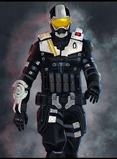 Mass Effect 3 - Cerberus Engineer by ryderlt on DeviantArt