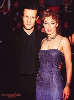 Matt Smith & Alex Kingston - 11th Doctor & River Song