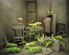 Radioactive Cats (1980) by the artist Sandy Skoglund