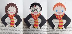 Harry Bookmark buddies. I want these so hard.