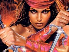 Female Warriors | Download 2560x1600 Fantasy women warrior Wallpaper/Background ID:96711