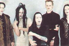 Ginger Fish, Twiggy Ramirez, Marilyn Manson, Madonna Wayne Gacy and Zim Zum