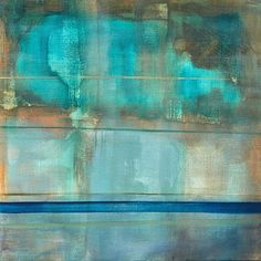 Painting 48.14, 80x80 cm, 2014 Berlin #canvaspainting #newpost #berlin #interiordesign #interiordesigner #lines #green #oiloncanvas #saatchiart #instartist #nordic