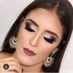 Makeup For Teens, Girls Makeup, Diy Makeup, Beauty Makeup, Makeup Ideas, Make Up Time, How To Make, Black Girl Makeup, Brunette To Blonde