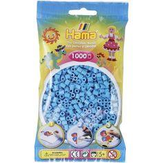 Hama 207-49 Strijkkralen 1000 BLAUW azuur