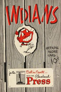 1951 Red Sox v Indians Program Scorecard Ted Williams 3 Hits Ex 31699 Cleveland Indians Logo, Cleveland Baseball, Baseball Posters, Baseball Art, Mickey Mantle, Indian Prints, Thing 1, Canvas Paper, Chicago White Sox