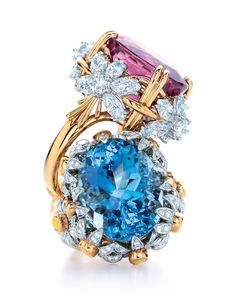Tiffany & Co. Blue Book 2014 Collection rings.