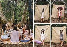 Throw a boho chic bridal shower like this one.