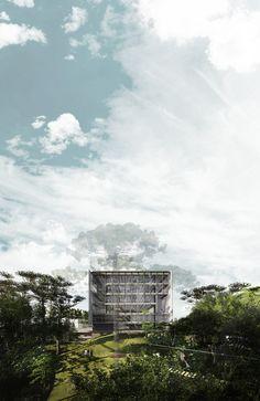 Galeria - Primeiro lugar no concurso para Nova Sede do Clube Curitibano / Arqbox Arquitetura - 21