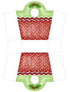 58 Boxes And Bags, Quot; Christmas Purse, Christmas Gift Box, Christmas Wrapping, Christmas Projects, All Things Christmas, Holiday Crafts, Diy Paper, Paper Crafts, Paper Box Template