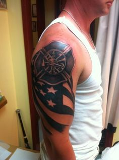 1000 images about tattoo on pinterest firefighter for Oklahoma flag tattoo