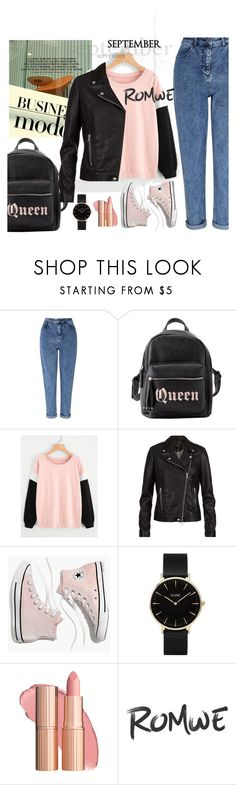 """""""New contest"""" by mell-2405 ❤ liked on Polyvore featuring Miss Selfridge, Charlotte Russe, SET, Madewell and CLUSE"""