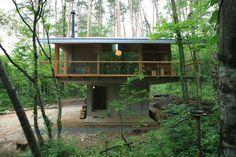 Oyama's forest villa | Toshito Yokouchi Architectural Design Office