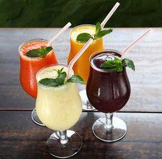 Sucos saudáveis: Detox, energizante, e hidratante - Dri Saudavel