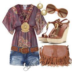 Women S Fashion Online Sites Boho Outfits, Spring Outfits, Casual Outfits, Fashion Outfits, Mode Boho, Estilo Boho, Complete Outfits, Summer Wear, Look Cool