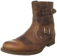 Steve Madden Men's Barrio Boot. Good for office and motorcycle.
