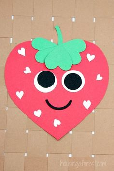 25 Super Cute Heart Crafts For Kids - This Tiny Blue House - - Here is the best and cutest collection of heart crafts for kids to make for Valentines Day. Super easy and fun these crafts will keep kiddos busy for hours! Valentines Bricolage, Kinder Valentines, Valentine Activities, Valentine Crafts For Kids, Valentines Diy, Classroom Activities, Valentine's Day Crafts For Kids, Toddler Crafts, Preschool Crafts